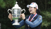 US Women's Open: A-Lim Kim wins first major title after stunning finish